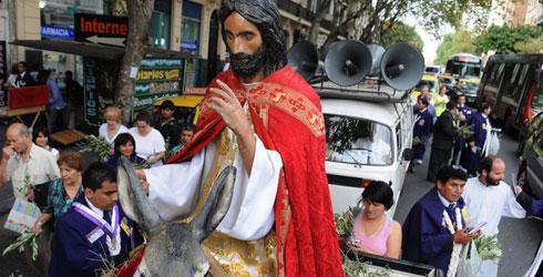 La Ciudad celebró al papa Francisco