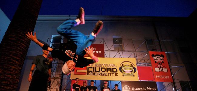 Festival de la cultura joven en Ciudad Emergente