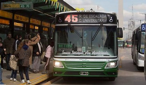 Largo el metrobus de la 9 de julio