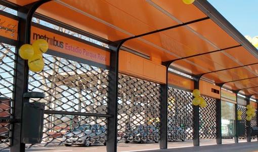 Mas colectivos en el MetrobúsSur