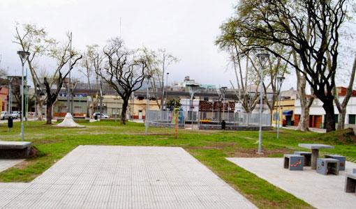 Renuevan plazas en Barracas