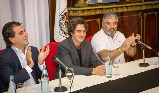 Homenajearon a Diego Peretti