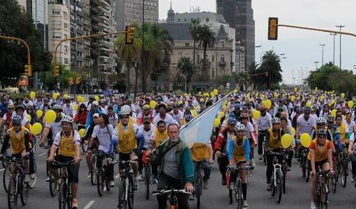 Una bicicleteada en la Ciudad