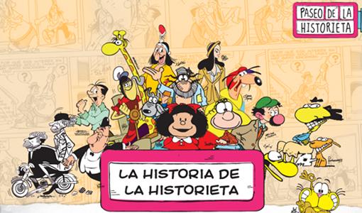 Se celebro el Día de la Historieta