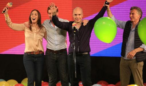 El candidato del PRO, Horacio Larreta gano en la comuna 4
