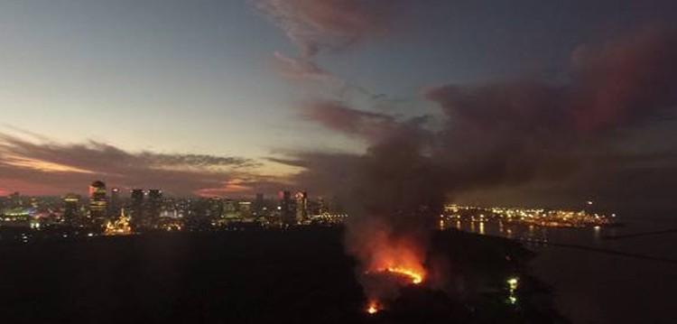 Otra vez se incendió la Reserva Ecológica