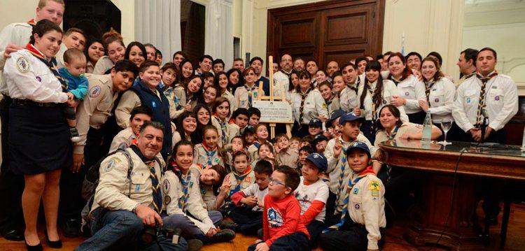 Reconocimiento para el grupo scout de Barracas