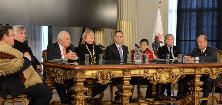 """La Asociación """"Fundadores de la Patria"""" expusieron en la legislatura"""