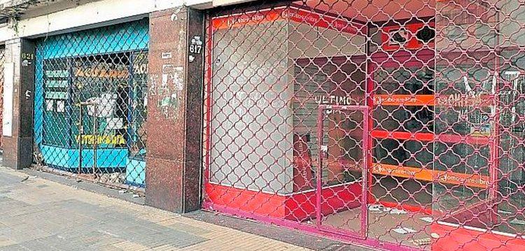Disminuyó el número de locales vacíos en la Ciudad