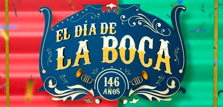 Festejos por el 146° aniversario del barrio de La Boca
