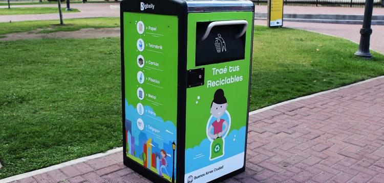 Nuevos Puntos Verdes para reciclables en la ciudad
