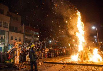 Vuelve la tradicional Noche de San Juan a La Boca