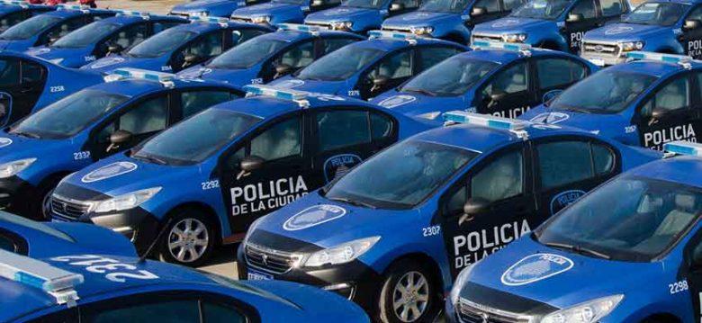 Nuevos patrulleros para la Policía de la Ciudad