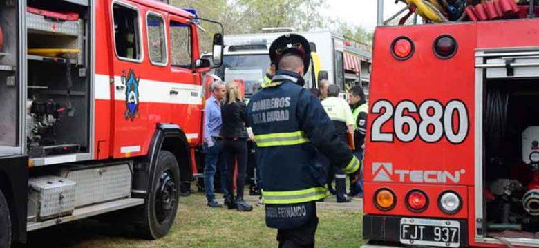 Se realizo un simulacro de incendio en Reserva Ecológica