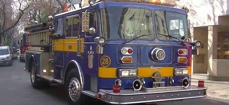 Caravana 133 Aniversario Bomberos de Argentina en Palermo