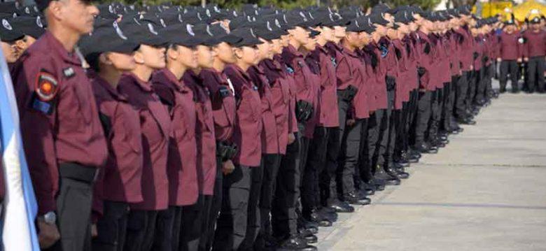 Jura a la Bandera de los cadetes de la Policía de la Ciudad de Buenos Aires
