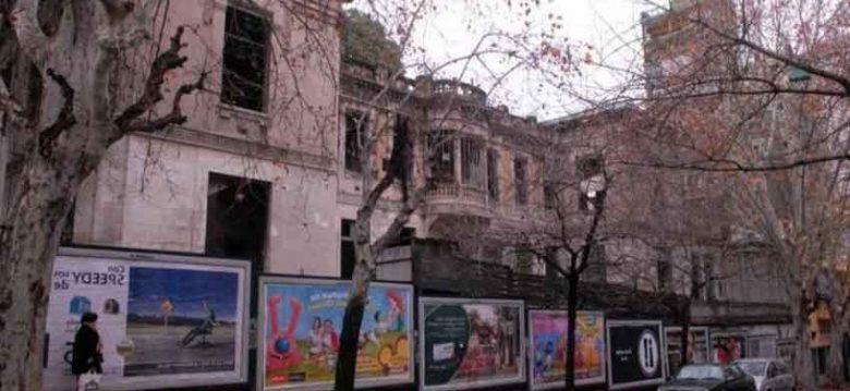 Reconstrucción y limpieza del edificio ex Padelai de San Telmo