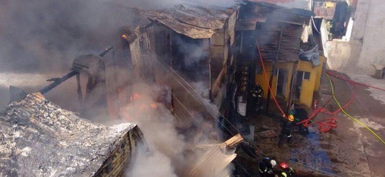Se declaro un Incendio en un conventillo de La Boca