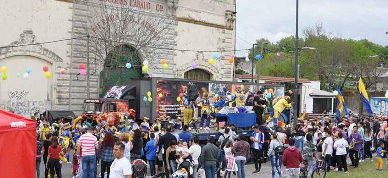 Festival del Día del Niño organizado por Bomberos Vuelta de Rocha