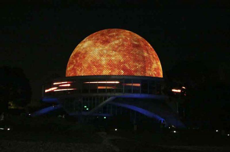 Se realizo la reinauguración del Planetario en Palermo