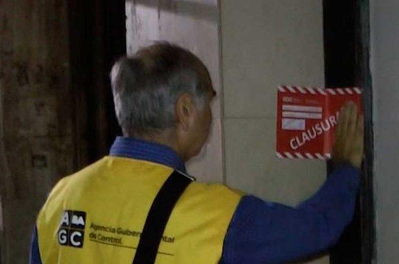 Clausuras y detenciones en el barrio porteño de Constitución