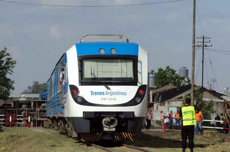Simulacro de accidente en el ferrocarril Belgrano Sur
