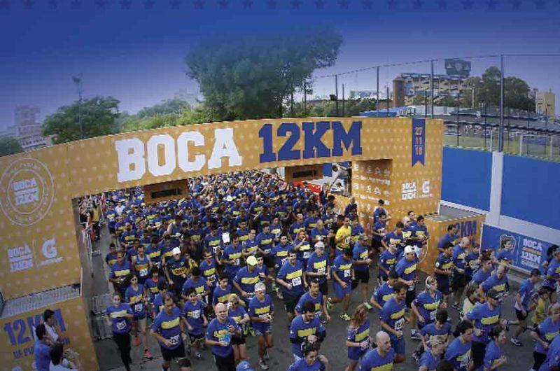 Este domingo se Corre la Carrera Boca 12k