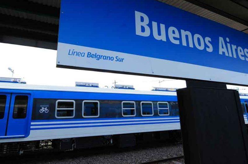 Maquinistas piden vidrios antibalas en los trenes del Belgrano Sur