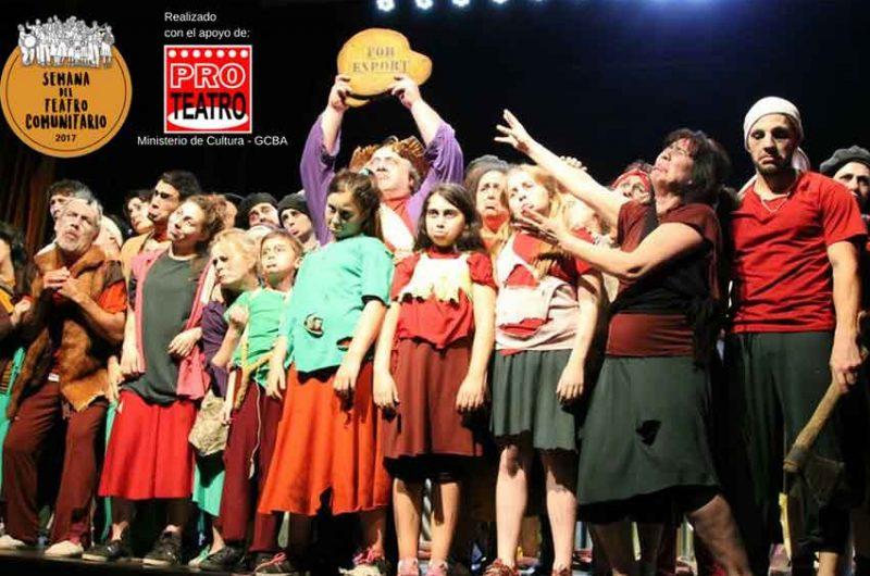 Se realiza la Semana del Teatro Comunitario 2017