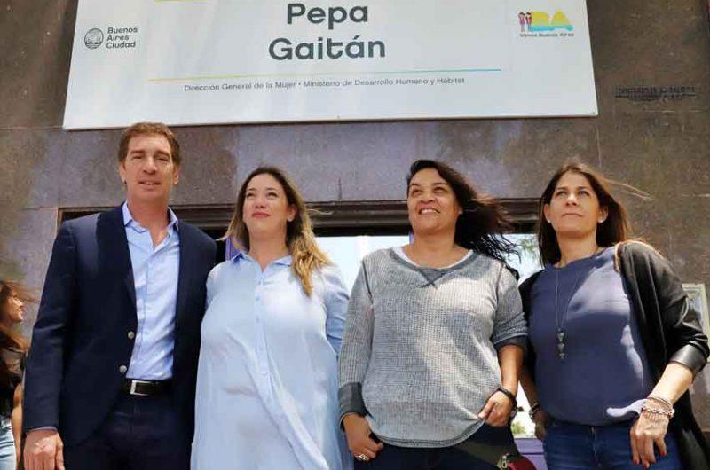 Inauguran Centro Integral de la Mujer en Parque Patricios