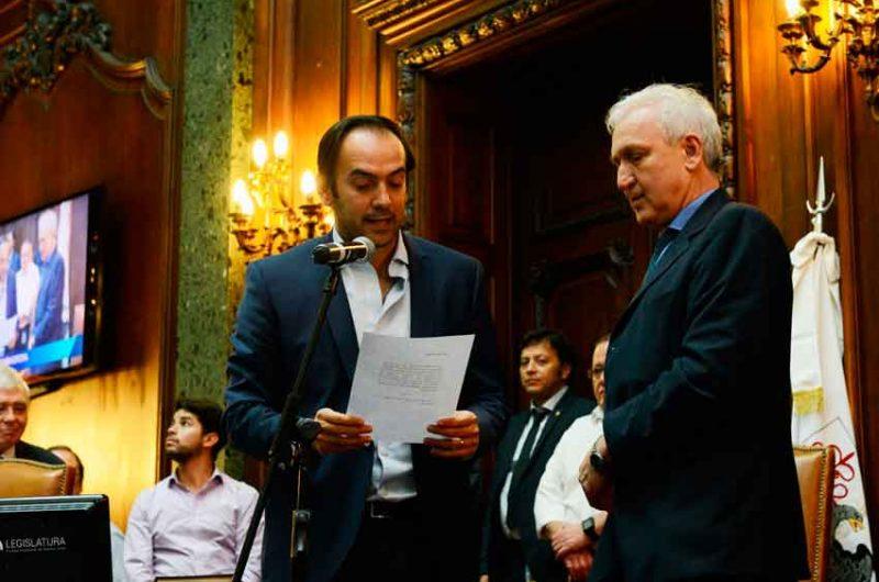 La legislatura designó nuevo Defensor del Pueblo Adjunto