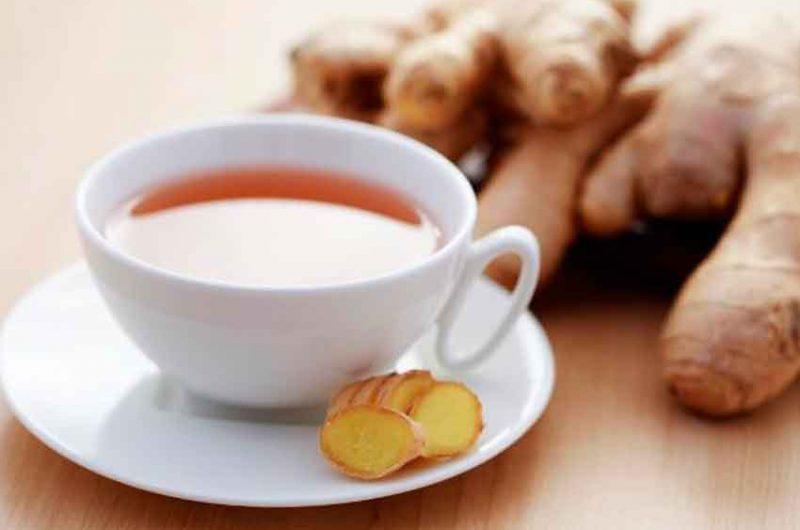 Beneficios de tomar té de jengibre