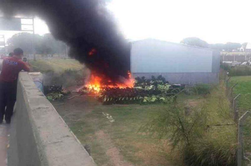 Incendio en un depósito de bicicletas del gobierno de la Ciudad