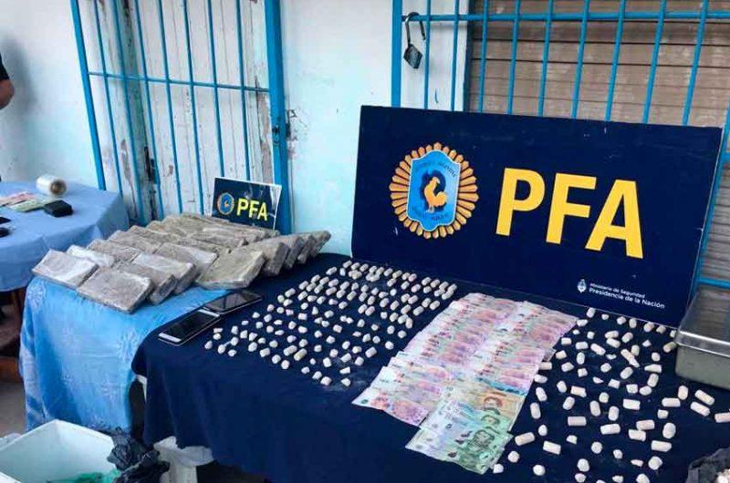 Secuestraron marihuana y dosis de paco en Barracas y La Boca