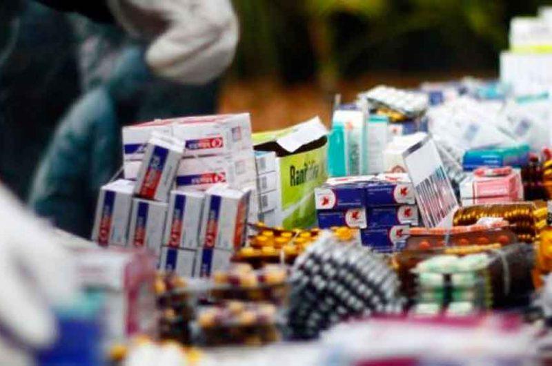 Secuestran Medicamentos que los comercializaban ilegalmente