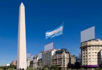 Festejos al cumplirse 82 años del Obelisco de Buenos Aires