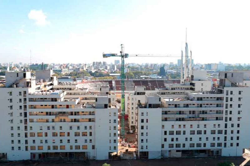 2.476 departamentos conforman el complejo Estación Buenos Aires