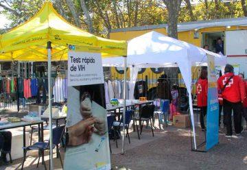 La campaña Test rápido de VIH en La Boca