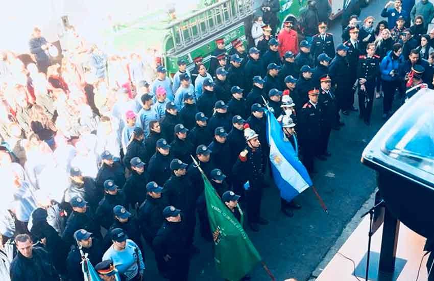 134° Aniversario de los Bomberos Voluntarios de La Boca