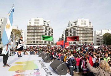 Alumnos realizaron su Promesa de Lealtad a la Bandera Nacional