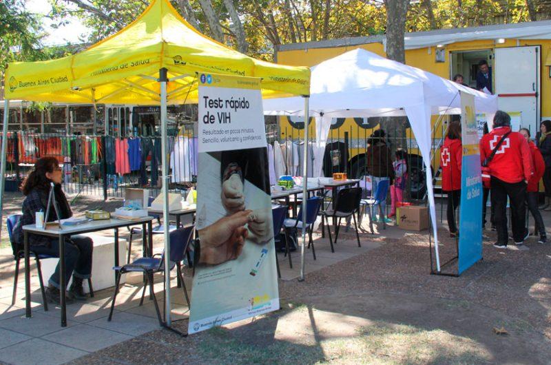 Test rápido de VIH en Parque Patricios