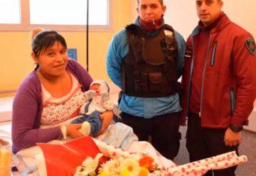 Policías ayudaron en el parto de una mujer en Barracas