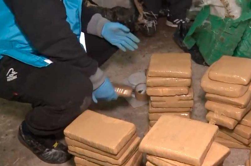Secuestran mas de 220 kilos de marihuana en Barracas