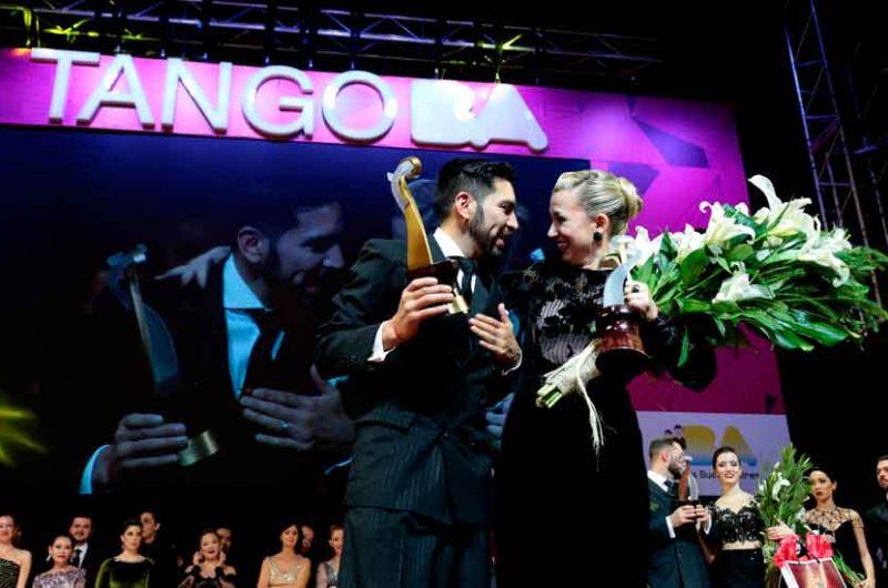 """Una pareja de Buenos Aires ganadores en """"Tango de Pista"""""""