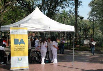 Día de la sanidad en Parque Patricios