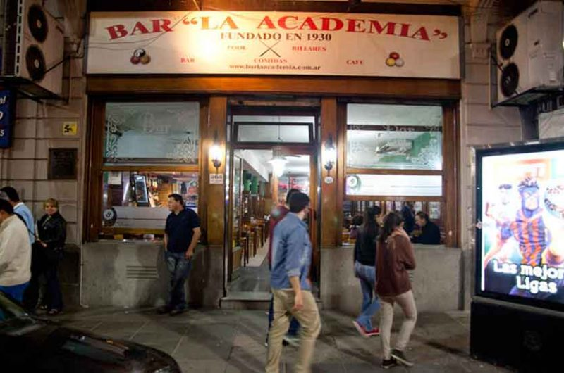 Música en Bares Notables de la ciudad de Buenos Aires