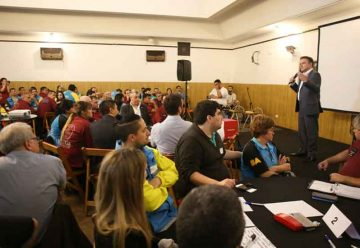 Encuentro Transversal de Agentes en Calle en La Boca