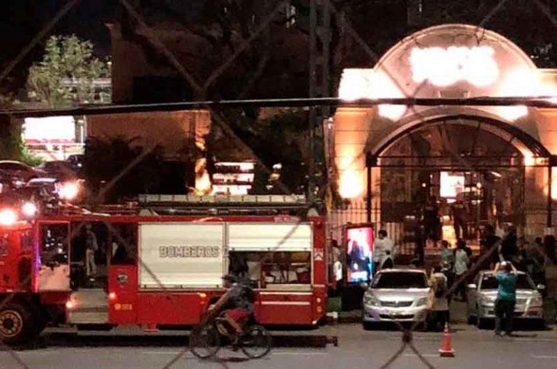 Incendio en el restaurante Kansas de Palermo