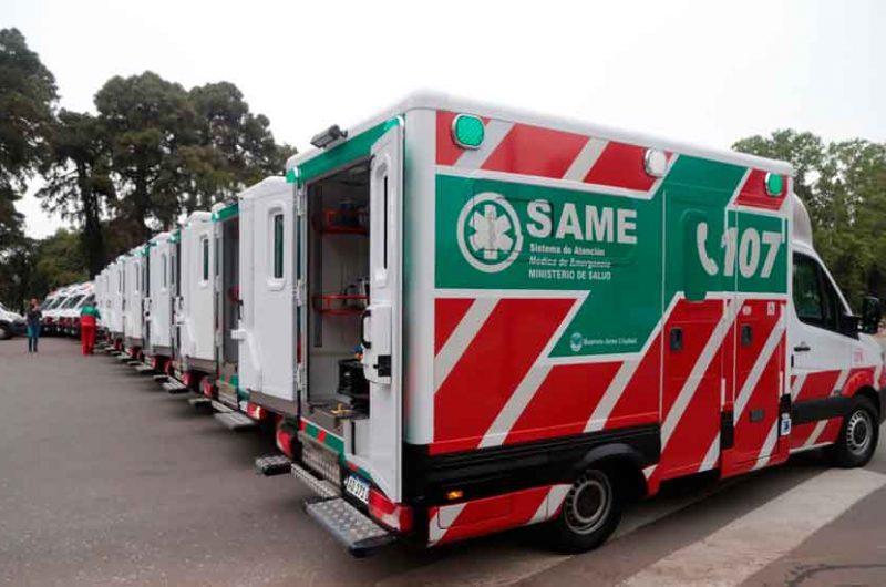 15 nuevas ambulancias para el Sistema de Salud de la Ciudad