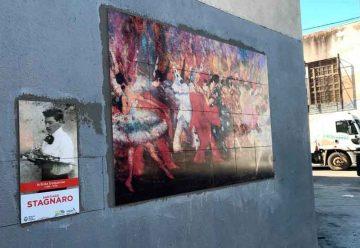 Inauguraron cuatro murales en la calle